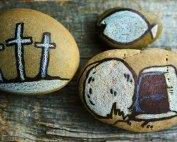 Easter Service, Tomb Crosses | Oakwood United Methodist Church, Lubbock Texas