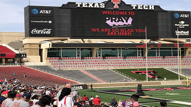 Pray Jones Stadium 2018 | Oakwood United Methodist Church, Lubbock Texas