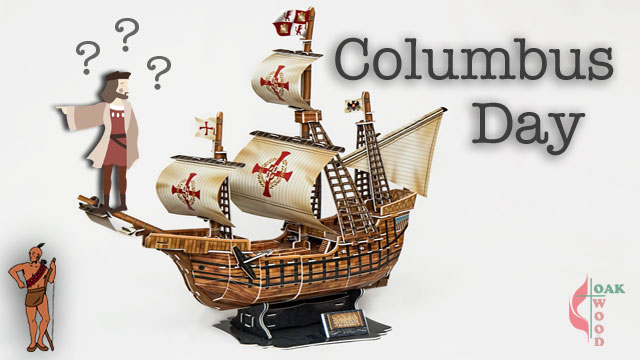 Columbus Day | Who Really Discovered America? | Oakwood United Methodist Church, Lubbock Texas