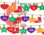 Advent Calendar, Give and Donate in Reverse | Oakwood United Methodist Church, Lubbock Texas