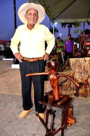 O Boneco é uma das obras que o artista mais aprecia de sua coleção