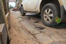 Buracos vinham causando transtornos aos motoristas - Foto: Alexandre Lima