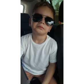 João ycaro Quintom Rocha, 4 anos