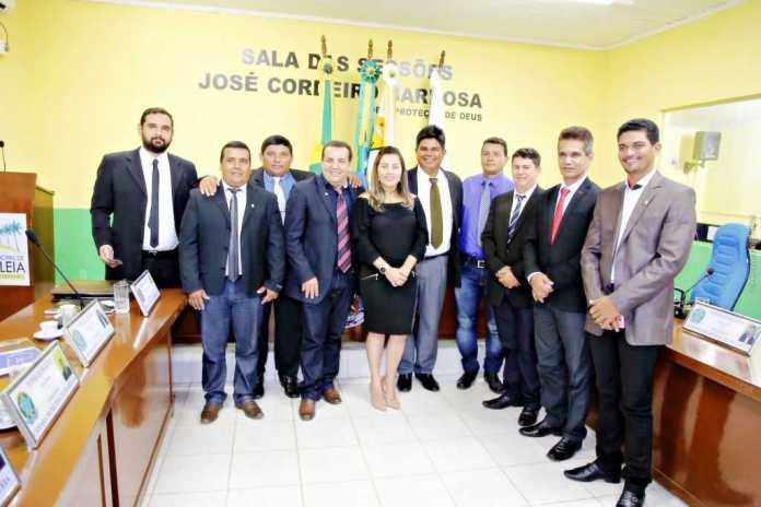 Prefeita participa de 1ª Sessão do ano de 2018 -01