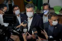 Ministros-do-das-elações-Exteriores-Ernesto-Araújo-Odair-Leal-Secom-6-1-1536x1024