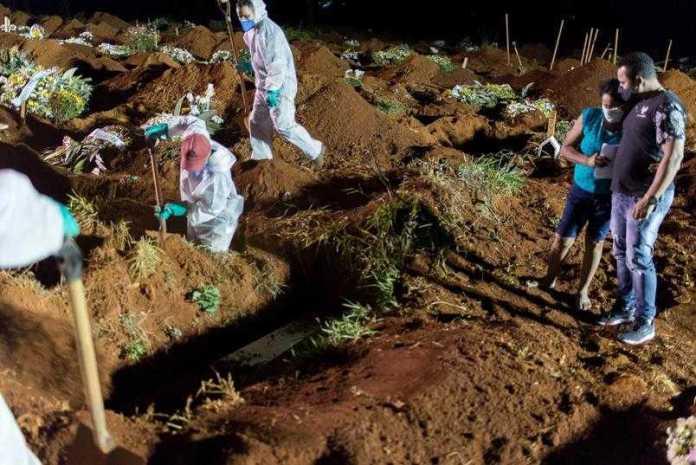 Sete em cada dez brasileiros conhecem alguém que morreu de Covid-19