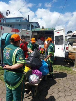 Segue a campanha de ajuda a São Francisco de Paula