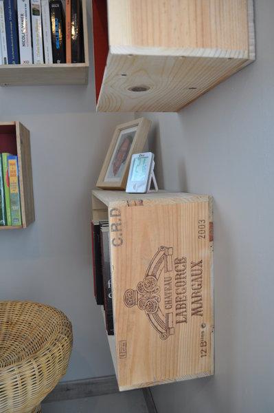 etageres en caisse de vin oui are makers