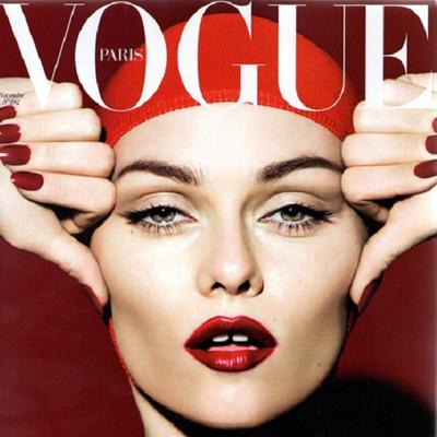 Vanessa Paradis in Vogue