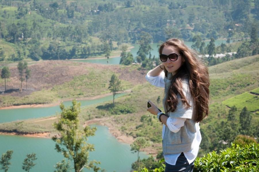 Lacuri si plantatii de ceai Nuwara Eliya, Sri Lanka