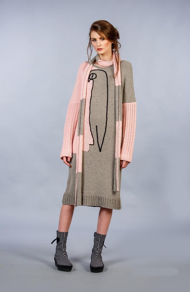 Rochie tricotata Andreea Tincu