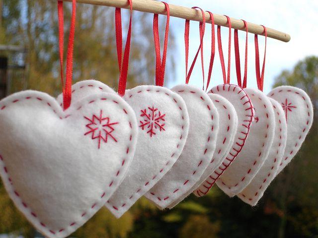 decoratiuni pentru Craciun handmade