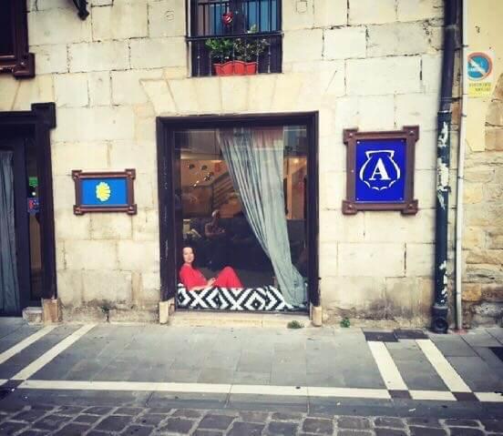 Veronica pe Camino de Santiago, ziua 3, cazarea din Pamplona