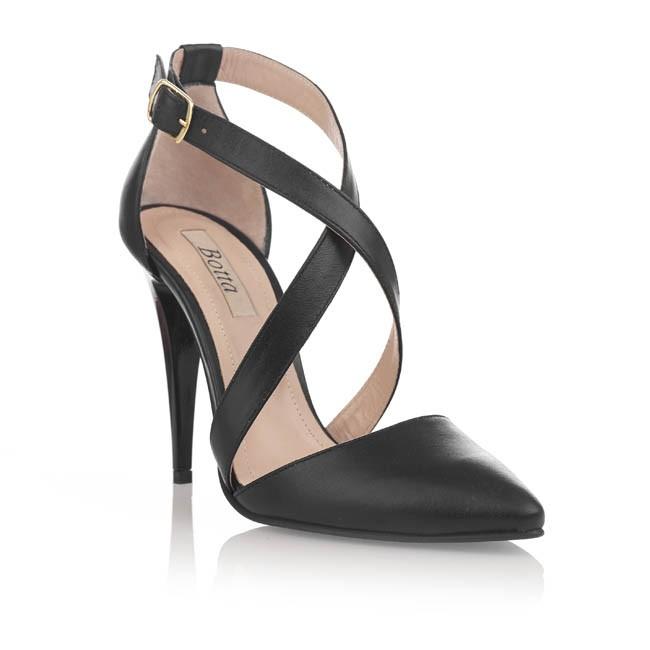 pantofi botta negri