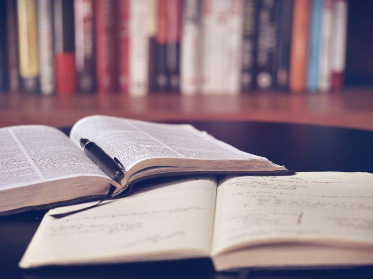 Books and notebook, Communication, Oana Harrison