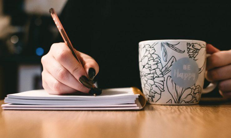 Writing, Coffee, Oana Harrison