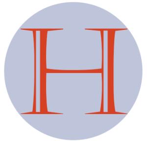 H logo initial