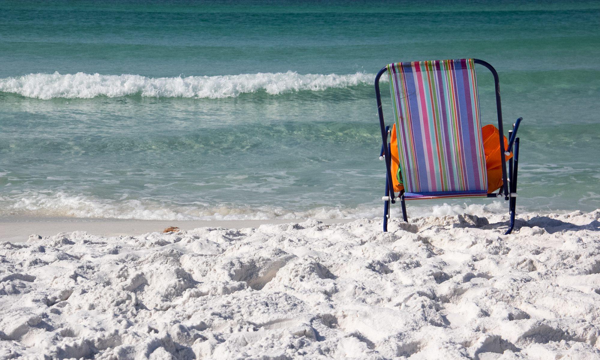 Beach chair Oana Harrison Miramar Beach