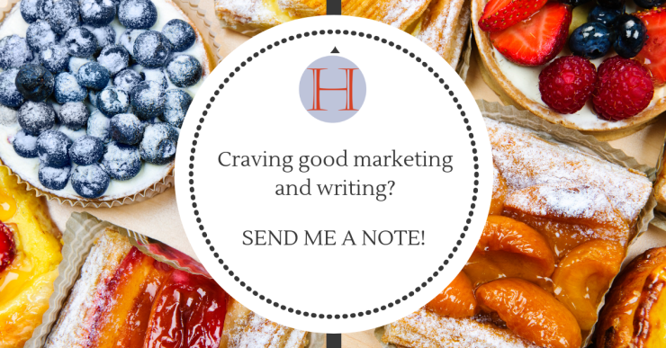 Craving quality marketing and writing, contact Oana Harrison marketing services and writing