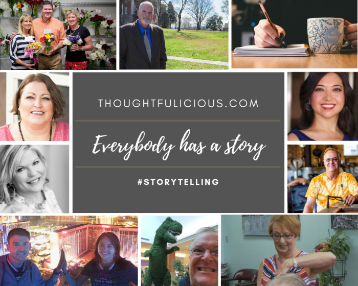 Everybody has a story - storytelling blog Oana Harrison writing