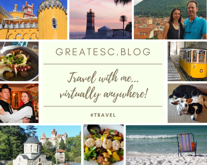 travel blog collage Oana Harrison Greatescapetations