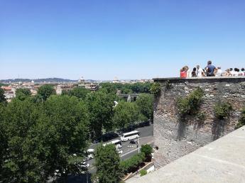 Panorama din Giardino degli Aranci
