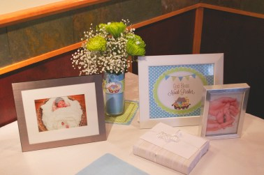 Noah Christening table