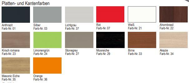 thuiswerkplek kleuren