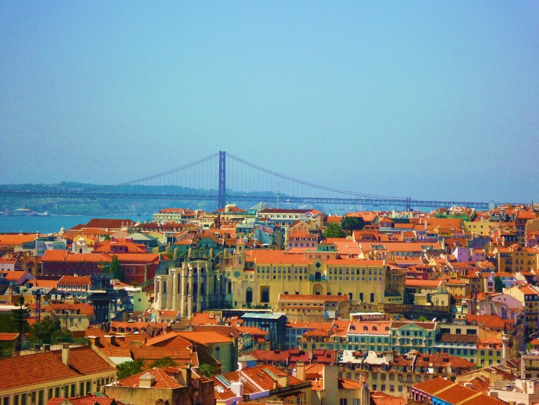 Lisbon view point