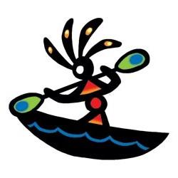 Kokopelli-Kayak-Tattoo-Design-4