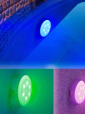 Oasi Blu Piscine Avellino - foco-led-colores-valvula-retorno