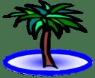 Oasis Palm Tree