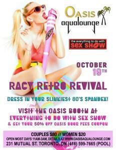 Racy Retro Revival @ Oasis Aqualounge | Toronto | Ontario | Canada