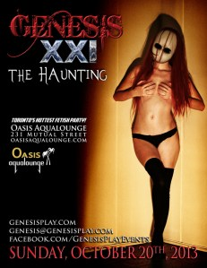 "Genesis Fetish Night ""The Haunting"" @ Oasis Aqualounge   Toronto   Ontario   Canada"