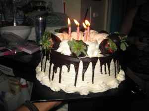 Jana's Birthday cake