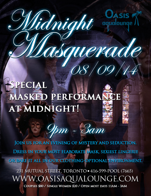 Masquerade masks are always welcome!
