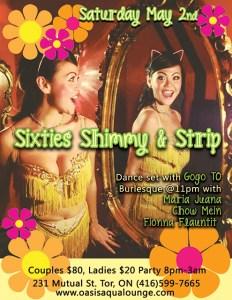Sixties Shimmy StripWEB