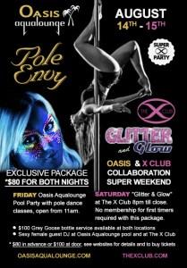 August 14 Xclub Oasis