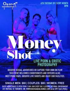 Money Shot: Live Cam Show & Porn Shoot