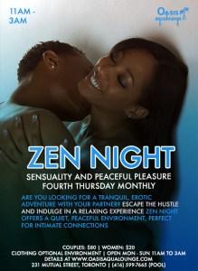 Zen Night: Sensuality & Peaceful Pleasure