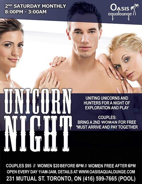 Unicorn threesome