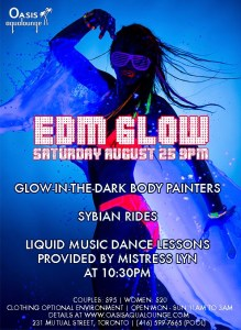 EDM Glow Dance & Play Party