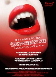Sexy & Spooky Halloween Soiree