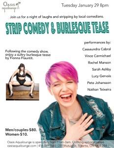 Strip Comedy & Burlesque Tease