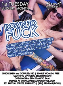 Down To Fuck 2019- May