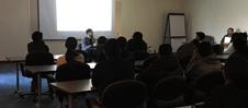 Mo Kheirbakhsh presenting workshop
