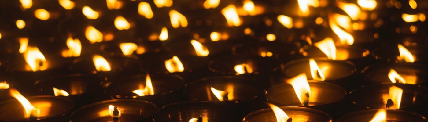 Row of Lights - Deepavali