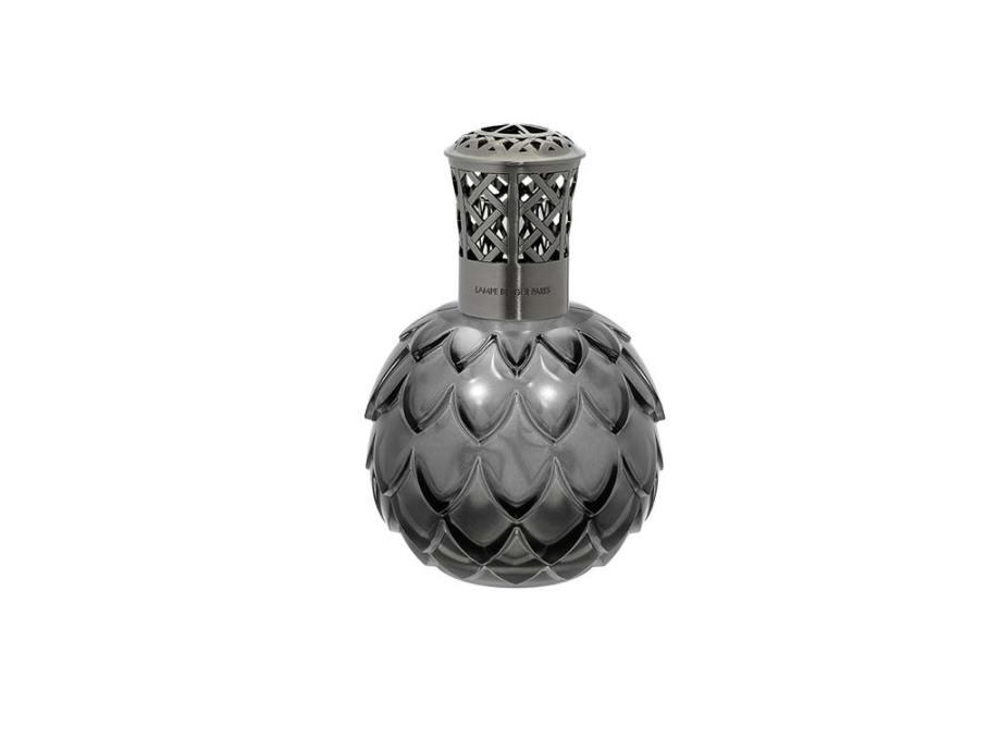 imagen lampara artichaut gris Lampe Berger