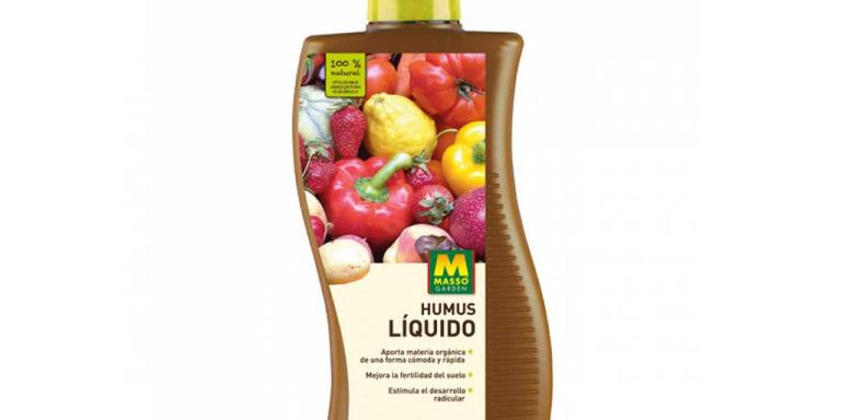 imagen Humus líquido bio 1 litro Massó Garden