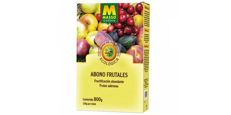 imagen abono frutales bio 800 g massó garden